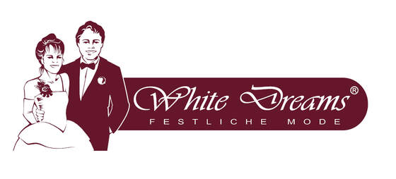 Logo vom White Dreams Festliche Mode